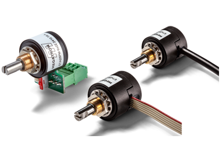 Programmeerbare Hall-Effect Multiturn Absolute Encoder ETA25PM serie | Pi-Tronic