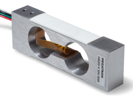 Bending Shear Beam Force Sensor KM200 | Pi-Tronic