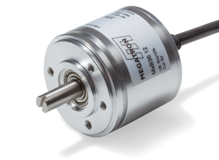 Hall-Effect Multiturn Absolute Encoder MAB40APM serie | Pi-Tronic