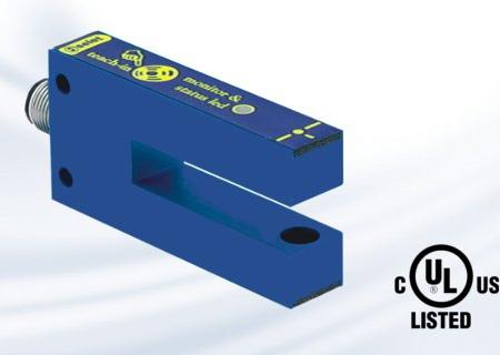 Fork sensor FOP10 label-detectie serie label sensor | Pi-Tronic
