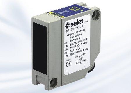 Diffuse OCV50D SELET sensor serie block type DC/AC | Pi-Tronic