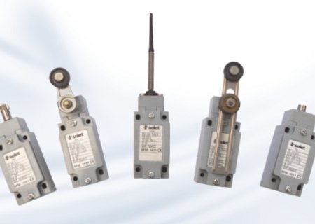 SFM21xx Mechanical Limit Switch with one-way lever with roller | Pi-Tronic